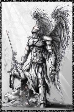 archangel tattoo designs - Google Search