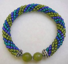 When I learned to make bead crochet ropes a few years ago, I found it to be beyond frustrating! In my class, the instructor (Stephanie Riger – a wonderful jewelry designer and friend), made i…