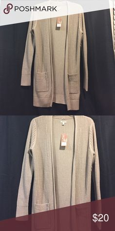 Sonoma life+style Tan long sleeve sweater, size Large Sonoma Sweaters Cardigans