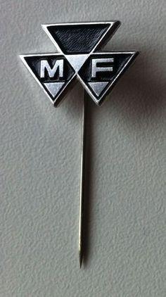 MASSEY FERGUSON (Traktor) Anstecknadel Abzeichen 1970er Jahre