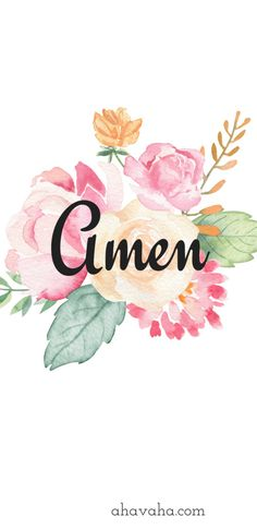 Amen Themed Floral Free Christian Wallpaper and Screensaver Mobile Phone Black Background Script 19 New Wallpaper Hd, Cute Wallpaper Backgrounds, Flower Wallpaper, Background Images Hd, Mobile Wallpaper, Cute Wallpapers, Phone Wallpapers, Scripture Wallpaper, Bible Verse Wallpaper