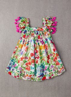 nellystella chloe dress – garden floral - view all - baby girl Little Dresses, Little Girl Dresses, Girls Dresses, Toddler Dress, Baby Dress, Infant Toddler, Toddler Girls, Robes Tutu, Chloe Dress