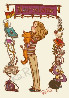 Hermione by (June Harry Potter fan art. Fanart Harry Potter, Harry Potter Hermione, Harry Potter Card, Mundo Harry Potter, Harry Potter Drawings, Harry Potter Universal, Harry Potter Fandom, Ron Weasley, Hermione Granger Drawing