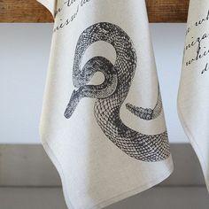 Penny Dreadful Scorpion Tea Towel