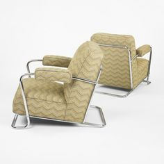 R.C. Coquery Lounge Chairs for Thonet, c1930.