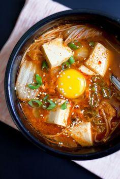 Korean Tofu Soup | jchongstudio