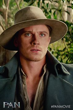 A remarkable adventure awaits. Are you ready to fly? Garrett Hedlund is Captain James Hook in Pan.