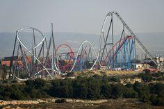 PortAventura 2012 - Shambhala It makes Dragon Khan look tiny.