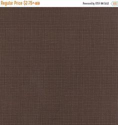 Lady Slipper Lodge Fabric Moda Dark Brown Check 6586 20