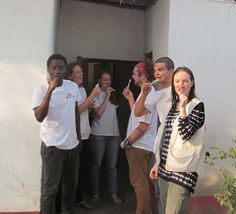 Brushing teeth as a social activity: Life in an MSF compound | Doctors without borders