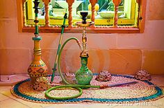 The origins of Nargile (hookah) come from the north western provinces of India, & in other parts of the world. Hookah pipes were used for smoking tobacco & are considered a favorite past time for many people.