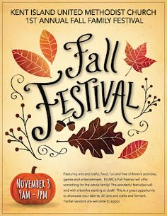 Flyers, Fall and Festivals on Pinterest