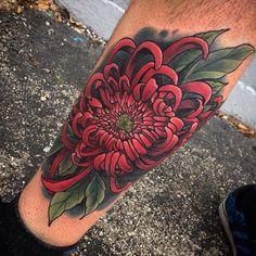 Full Body Tattoo, Body Art Tattoos, Sleeve Tattoos, Tattoo Designs, Floral Tattoo Design, Floral Design, Flor Oriental Tattoo, Crisantemo Tattoo, Japanese Flower Tattoo