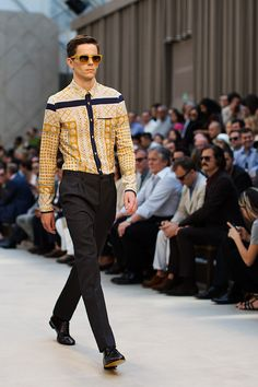 Burberry Men's Spring/Summer 2013 collection. Photo by the Sartorialist.