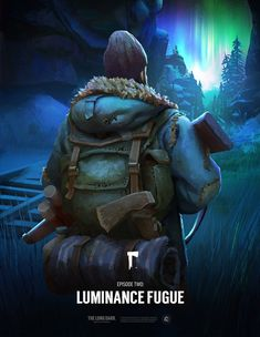 """The Long Dark® Wintermute Episode Two """"Luminance Fugue"""" Poster. The Long Dark, Long A, Creative Snapchats, Epic Games, I Don T Know, Master Chief, Poster Prints, In This Moment, Fine Art"""