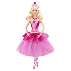 A transforming ballerina doll based on the magical Barbie movie! Girls can easily change her purple-and-blue dance outfit into a dazzling pink costume — just like the one Kristyn Farraday wears in her final dance performance in the movie! #savethebunnyGP