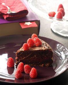 torta cioccolato lamponi