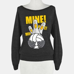 This shirt represents what you say when the ball is coming for you in volleyball. Volleyball is my favorite sport that i have been working on since grade. This shirt is a good reminder to talk! Volleyball Outfits, Volleyball Shirts, Play Volleyball, Volleyball Quotes, Volleyball Players, Soccer, Softball, Volleyball Snacks, Volleyball Designs