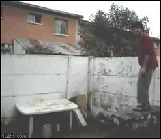 This free runner. | 37 People Who Failed So Spectacularly They Almost Won