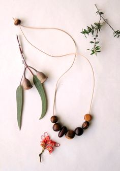 alchemy australian - found wood necklace. made from fallen and salvaged australian timber// sfgirlbybay