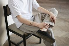 Drevena Helena Men's BASIC collection Lucia K. Photography minimal / masic / pants