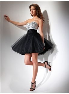 White/Black Tulle Short Prom Dress 2013 - Simply dreamy and magic. A Fairy (MP) Mini Prom Dresses, Prom Dress 2013, Tulle Prom Dress, Cheap Prom Dresses, Strapless Dress Formal, Short Dresses, Dress Up, Bridesmaid Dresses, Formal Dresses