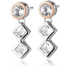 Awesome Buy Clogau Welsh Royalty Anniversary White Topaz Earrings for just added. Jewelry Packaging, Jewelry Branding, Topaz Earrings, Drop Earrings, Welsh Gold, Topaz Color, Latest Jewellery, Gold Set, White Topaz