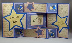 You're a Star - see tri-fold tutorial