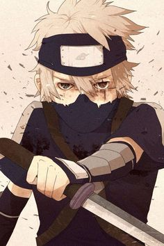 ANBU Kakashi can hit it tbh : Photo