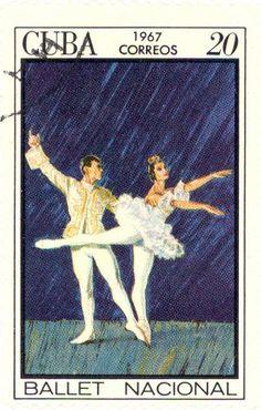 "Cuba Stamp 1967  - Scene from the ballet ""The Nutcracker"""