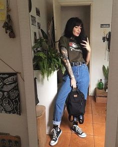 Ideas fashion vintage hipster grunge indie for 2019 Hipster Outfits, Indie Outfits, Grunge Outfits, Edgy Outfits, Cute Outfits, Fashion Outfits, Fashion Clothes, Summer Outfits, Girl Outfits