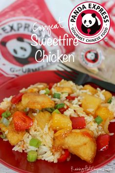 Copycat Panda Express Sweetfire Chicken