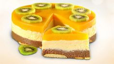 Torcik z kaszy manny 078 Largeok - Mňamky-Recepty. Köstliche Desserts, Delicious Desserts, Dessert Recipes, Cheesecake Pops, Quick Easy Desserts, Czech Recipes, Summer Cakes, Easy Cake Decorating, Almond Cakes