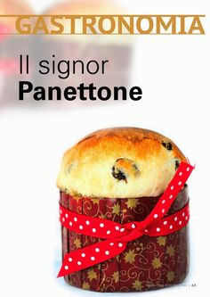 Клубника и базилик: Il panettone