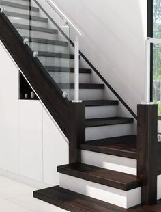 Coloured Staircases from James Grace for your home