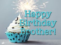birthday wishes for younger brother who is far away Birthdays happy birthday brother Happy Birthday Brother From Sister, Happy Birthday For Her, Happy Birthday Princess, Happy Birthday Cupcakes, Best Birthday Wishes, Happy Birthday Funny, Happy Birthday Messages, Happy Birthday Quotes, Happy Birthday Images