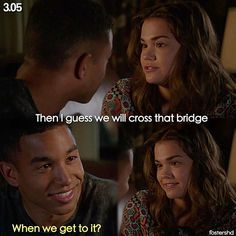 """#TheFosters 3x05 """"Going South"""" - Callie and AJ"""