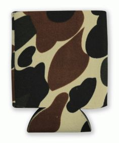 This is a sample of a CAMO collapsible Kan Kooler. It can be custom imprinted with your message by Crown Advertising.  Order at CrownAdv.com. Key Fobs, Drink Sleeves, Camo, Advertising, Crown, Messages, Mugs, Camouflage, Corona