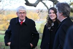 Tatiana Schlossberg, JFK's granddaughter honored the late President on the 50th anniversary of his assassination, 11-22-13, at a memorial erected as a tribute in England.   With her are the American ambassador Matthew Barzun (left) and Tony Badger from the Kennedy Memorial Trust (right).