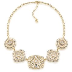 Necklace Bib   Casablanca Cachet Dramatic Frontal   Carolee Jewelry