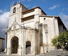 Salvatierra (Álava) - Iglesia de San Juan Bautista.