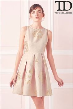 Buy True Decadence Pleated A line Dress from the Next UK online shop