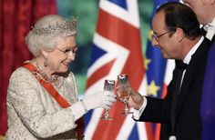 The Queen's Pre-Lunch Drink