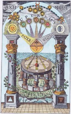 Alchemical and hermetic emblems 1-40