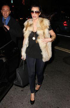 Kim Kardashian in fur: http://www.justbemagazine.com/fashion/kim-kardashian-dashes-anti-fur-protest/ She is a mf fur hag !!
