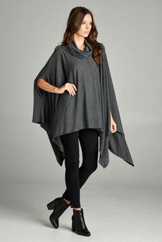 Overblown Poncho-멋스럽게 입을수 있는 판초(외투) Bell Sleeves, Bell Sleeve Top, Tops, Women, Fashion, Moda, Fashion Styles, Fashion Illustrations, Woman