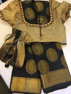 golden blouse