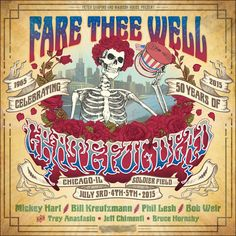Grateful Dead Celebrate 50 Years With Small 2015 Concert Tour Reunion with Trey…