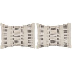 Safavieh Linea Taupe Granite 12 x 20-inch Throw Pillows
