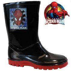 Kids boys spiderman #winter snow moon #mucker waterproof wellington #wellies boot,  View more on the LINK: http://www.zeppy.io/product/gb/2/252628626147/